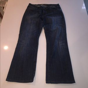Kut from the Kloth dark blue jeans 12 stretch